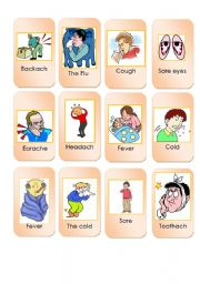 Game cards about health