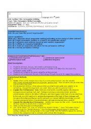 English Worksheets: standards