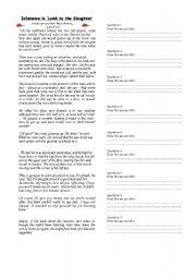english worksheets inference worksheets. Black Bedroom Furniture Sets. Home Design Ideas
