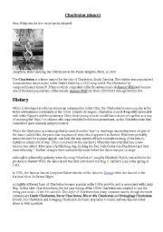 English Worksheets: Charleston (the dance)