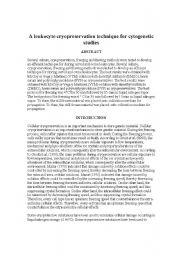 English Worksheets: genetic dissertion