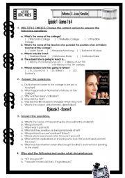 Mona Lisa Smile - Movie activity - ESL worksheet by Baby V