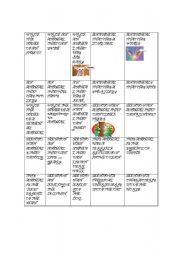 English Worksheet: JEOPARDY OF ANIMALS