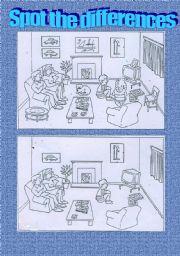 English Worksheet: Describing house and furniture
