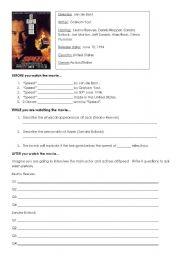 English Worksheets: Movie: Speed