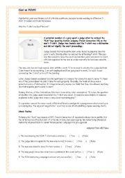 English worksheet: Cool as FCUK!