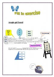 English Worksheets: Grammer exercise