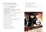 English Worksheet: Movie lesson- V for Vendetta