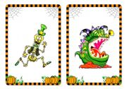 Halloween flashcards and word cards (4/4)