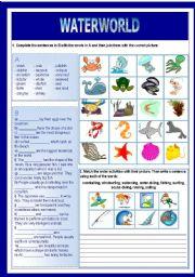 English Worksheets: Waterworld
