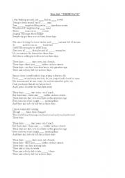 English Worksheets: A song by Bon Jovi for the ARTICLES