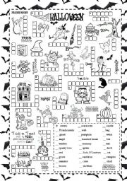 English Worksheet: Halloween