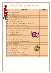 English Worksheets: VERB TO BE SHORT ANSWERS