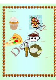 English worksheet: Desserts