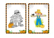 Halloween flashcards and word cards (5/7)
