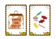 Halloween flashcards and word cards (7/7)