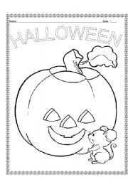 english worksheet first grade halloween guide - Halloween Worksheets For 1st Grade