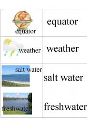 English Worksheets: Geography words 2
