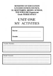 English Worksheets: Unit File Revision