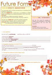 future forms english grammar pdf