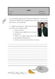 English Worksheet: Amish Community
