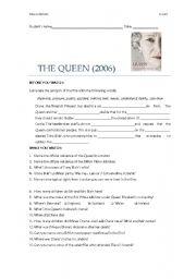 The Queen (film worksheet)