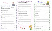 English Worksheets: QUESTION   MAKING
