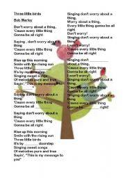 English Worksheets: Three little birds