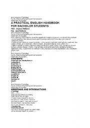 English Worksheets: practical english