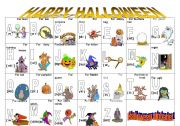 English Worksheet: vocabulary  about halloween