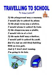 travelling on the school bus essay