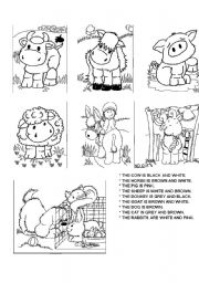 English Worksheets: The farm1