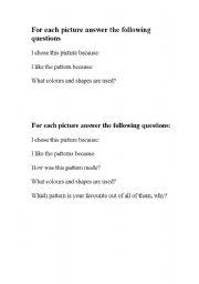 English Worksheets: animal print evaluations
