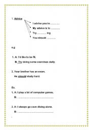 English Worksheets: language functions