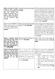 Printables Of Mice And Men Worksheets english worksheet of mice and men final project