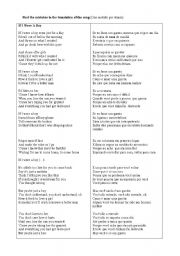 English worksheet: Music You have got friend