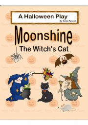 English Worksheet: Moonshine, the Witch´s Cat - A Halloween Play