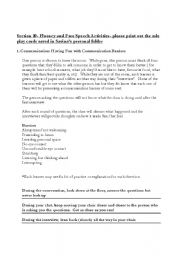 Speech Fluency and Customer Service