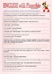 ENGLISH with Pinocchio