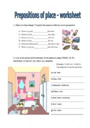 exercises prepositions of place pdf prepositions of place worksheets busy teacher the best and. Black Bedroom Furniture Sets. Home Design Ideas