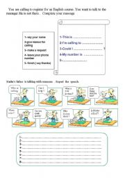 English Worksheets: talk