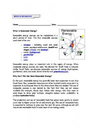 reading renewable energy