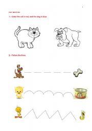 English Worksheets: PRE-WRITING