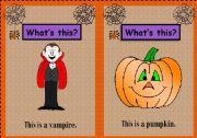 Halloween Flashcards 1/3