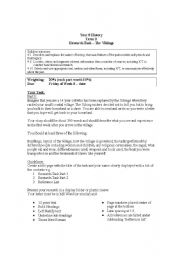 English Worksheet: Vikings Assessment task