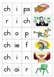Consonant diagraph - ch - Game