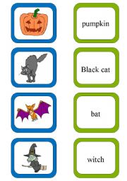 English Worksheet: Memory card game.