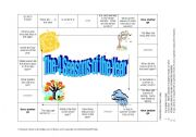 English Worksheet: What is the Weather board game