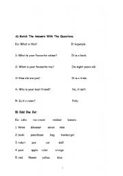English Worksheets: 2nd grades worksheet