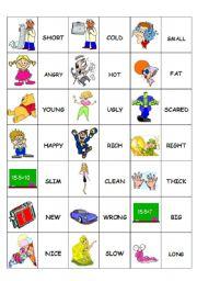 Domino Adjectives 2/2